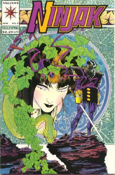 Cover for Ninjak (Acclaim / Valiant, 1994 series) #3