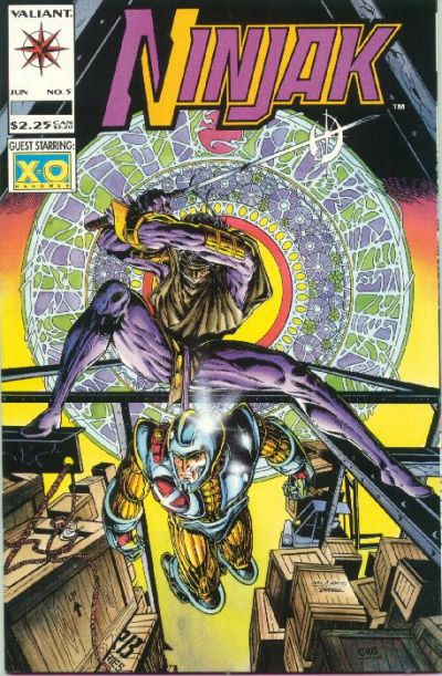 Cover for Ninjak (Acclaim / Valiant, 1994 series) #5
