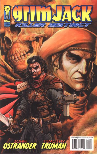 Cover for Grimjack: Killer Instinct (2005 series) #1