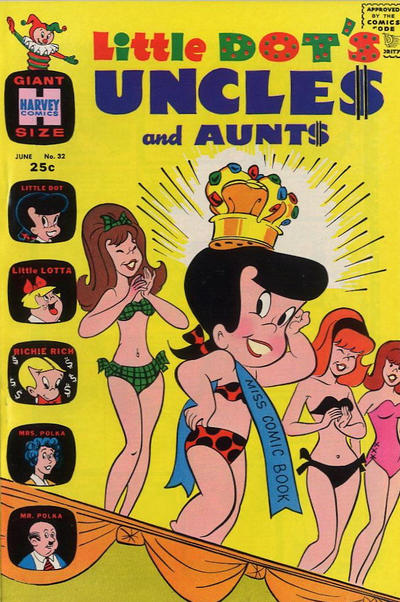 Cover for Little Dot's Uncles and Aunts (Harvey, 1961 series) #32