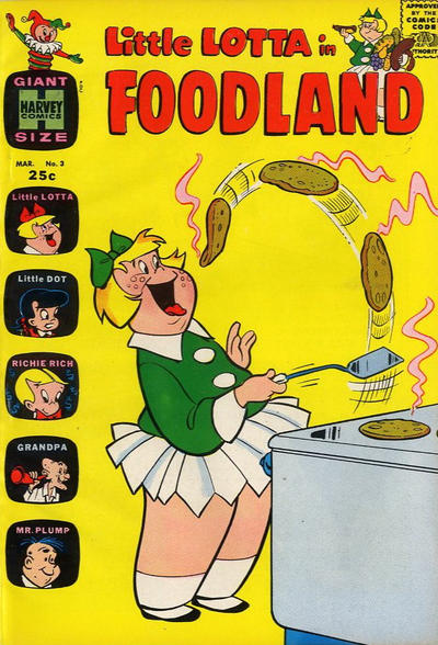 Cover for Little Lotta Foodland (Harvey, 1963 series) #3