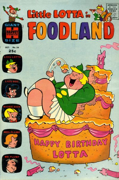 Cover for Little Lotta Foodland (1963 series) #24