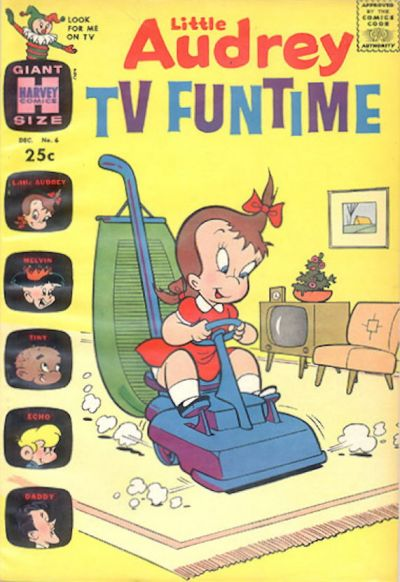 Cover for Little Audrey TV Funtime (Harvey, 1962 series) #6