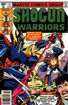 Cover for Shogun Warriors (Marvel, 1979 series) #15 [Newsstand Edition]