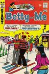Cover for Betty and Me (Archie, 1965 series) #48