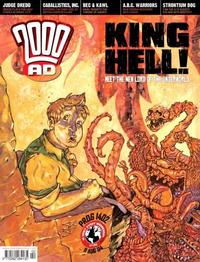Cover Thumbnail for 2000 AD (Rebellion, 2001 series) #1402