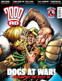 Cover Thumbnail for 2000 AD (Rebellion, 2001 series) #1403