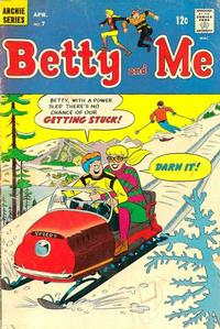 Cover Thumbnail for Betty and Me (Archie, 1965 series) #7