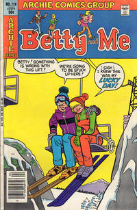 Cover Thumbnail for Betty and Me (Archie, 1965 series) #119