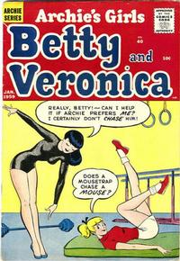 Cover Thumbnail for Archie's Girls Betty and Veronica (Archie, 1950 series) #40