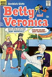 Cover Thumbnail for Archie's Girls Betty and Veronica (Archie, 1950 series) #137
