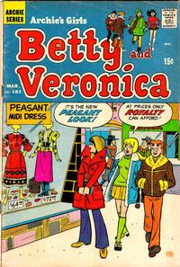 Cover Thumbnail for Archie's Girls Betty and Veronica (Archie, 1950 series) #183