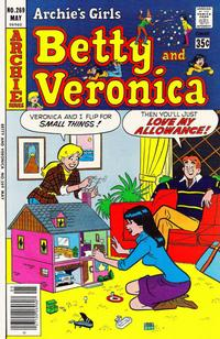 Cover Thumbnail for Archie's Girls Betty and Veronica (Archie, 1950 series) #269