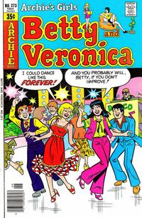 Cover Thumbnail for Archie's Girls Betty and Veronica (Archie, 1950 series) #273