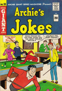 Cover Thumbnail for Archie Giant Series Magazine (Archie, 1954 series) #33