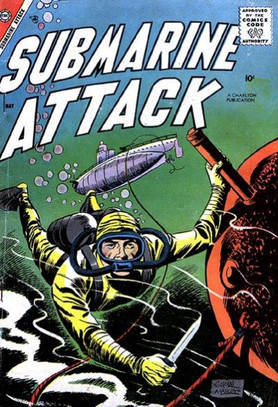 Cover for Submarine Attack (Charlton, 1958 series) #11