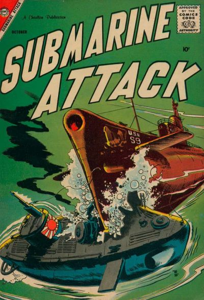 Cover for Submarine Attack (1958 series) #13
