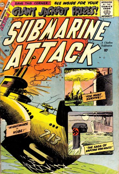 Cover for Submarine Attack (Charlton, 1958 series) #17