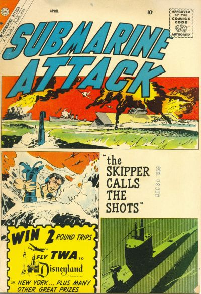 Cover for Submarine Attack (Charlton, 1958 series) #21