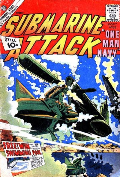 Cover for Submarine Attack (Charlton, 1958 series) #29