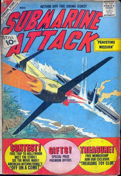 Cover for Submarine Attack (1958 series) #32