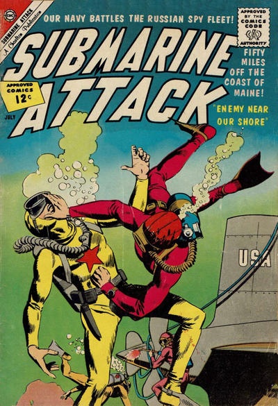 Cover for Submarine Attack (Charlton, 1958 series) #34