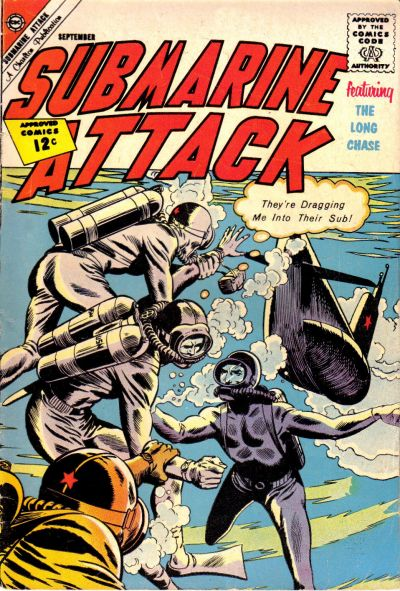 Cover for Submarine Attack (Charlton, 1958 series) #35