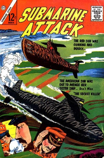 Cover for Submarine Attack (Charlton, 1958 series) #38