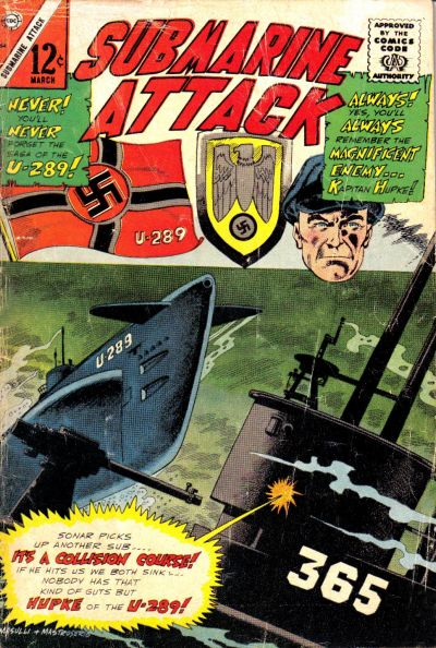 Cover for Submarine Attack (Charlton, 1958 series) #54