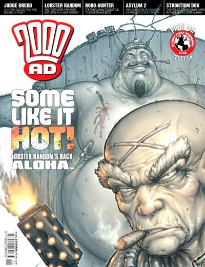 Cover for 2000 AD (Rebellion, 2001 series) #1411