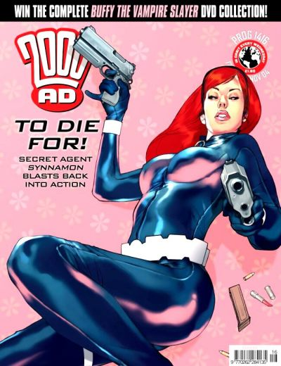 Cover for 2000 AD (Rebellion, 2001 series) #1416