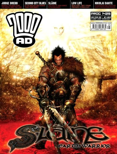 Cover for 2000 AD (Rebellion, 2001 series) #1425