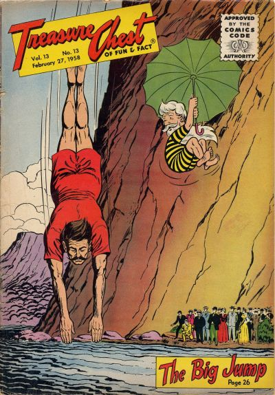 Cover for Treasure Chest of Fun and Fact (George A. Pflaum, 1946 series) #v13#13 [239]