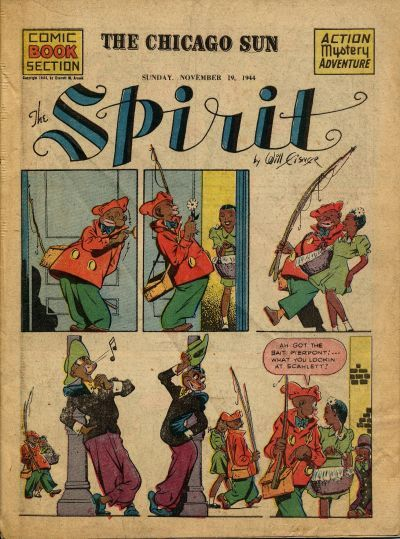 Cover for The Spirit (Register and Tribune Syndicate, 1940 series) #11/19/1944