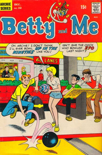 Cover for Betty and Me (Archie, 1965 series) #32