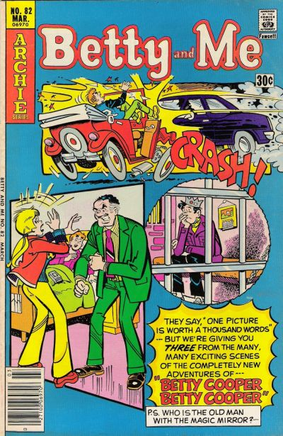 Cover for Betty and Me (Archie, 1965 series) #82