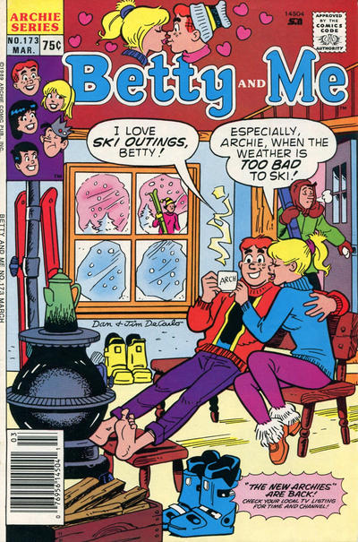 Cover for Betty and Me (Archie, 1965 series) #173