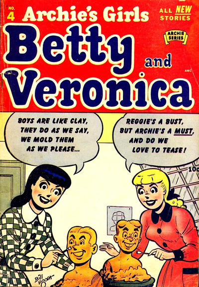 Cover for Archie's Girls Betty and Veronica (Archie, 1950 series) #4