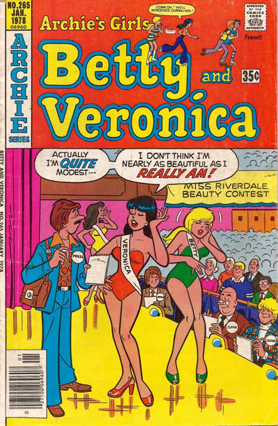 Cover for Archie's Girls Betty and Veronica (Archie, 1950 series) #265