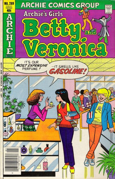 Cover for Archie's Girls Betty and Veronica (1950 series) #289