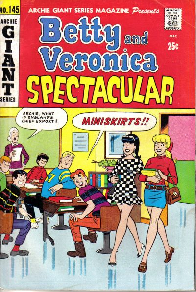 Cover for Archie Giant Series Magazine (Archie, 1954 series) #145
