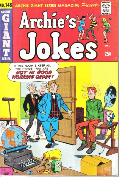 Cover for Archie Giant Series Magazine (Archie, 1954 series) #146
