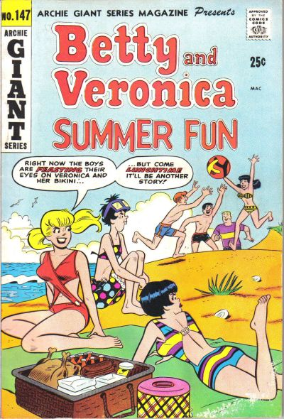 Cover for Archie Giant Series Magazine (Archie, 1954 series) #147
