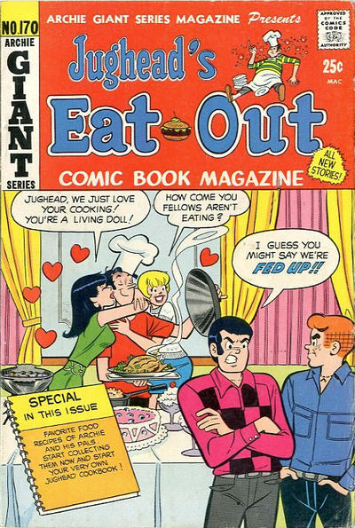 Cover for Archie Giant Series Magazine (Archie, 1954 series) #170
