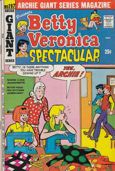 Cover for Archie Giant Series Magazine (Archie, 1954 series) #197