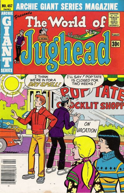 Cover for Archie Giant Series Magazine (Archie, 1954 series) #457