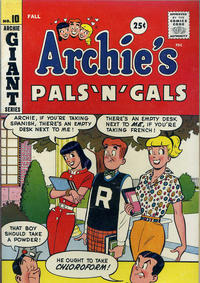 Cover Thumbnail for Archie's Pals 'n' Gals (Archie, 1952 series) #10