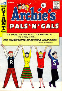 Cover Thumbnail for Archie's Pals 'n' Gals (Archie, 1952 series) #12