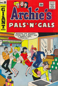 Cover Thumbnail for Archie's Pals 'n' Gals (Archie, 1952 series) #30