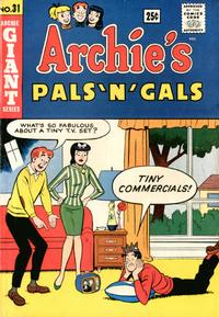 Cover Thumbnail for Archie's Pals 'n' Gals (Archie, 1952 series) #31